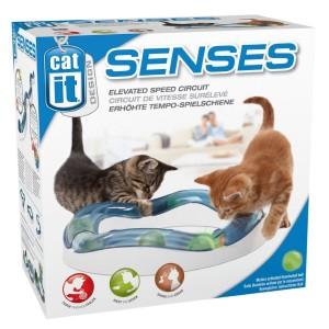 Hagen 猫用 おもちゃ キャティット デザインセンス スピードサーキット 光るボール
