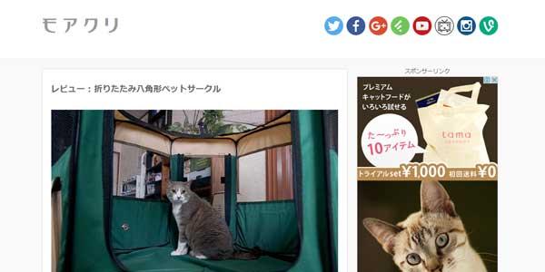 猫 防災グッズ