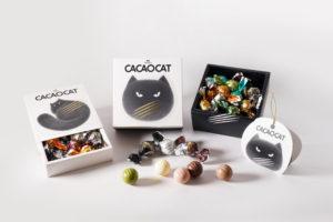 CACAOCAT(カカオキャット)が新しい猫パッケージ商品を発売!売上の一部は保護ネコ活動に。